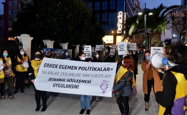 Mor Dayanışma: İstanbul Sözleşmesi uygulansın