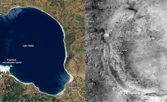 """NASA, Mars görevine hazır; """"Salda Gölü sayesinde ne bekleyeceğimizi biliyoruz"""""""
