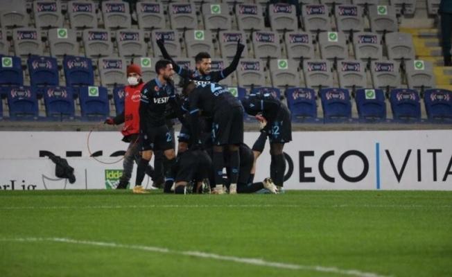 Trabzonspor yükselişini sürdürdü