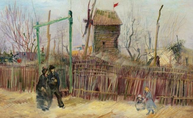 Van Gogh'un 'Scène de rue à Montmartre'si açık artırmada: Değeri 70 milyon lira!