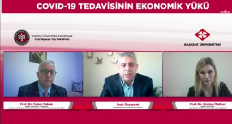 Covid-19'un Türkiye Sağlık Ekonomisine Yükü 3.7 Milyar Lirayı Aştı
