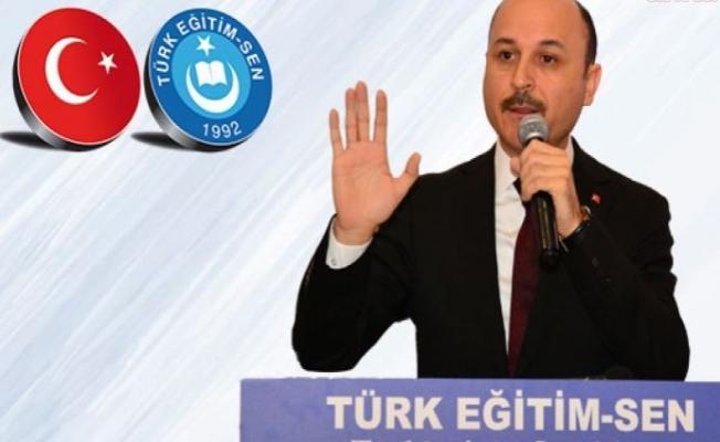 Türk-Eğitim-Sen: Ders Programları ve Sınıf Mevcutları Bir Günde Hazırlanamaz
