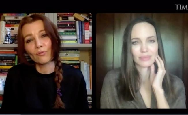 Angelina Jolie, Elif Şafak'la Türkiye'nin İstanbul Sözleşmesi'nden çıkma kararını konuştu