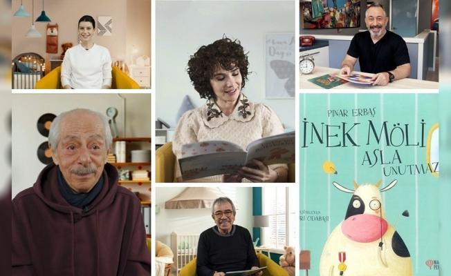 Beren Saat, Cem Yılmaz, Genco Erkal çocuklar için kitap okudu, Fazıl Say müzikleriyle eşlik etti