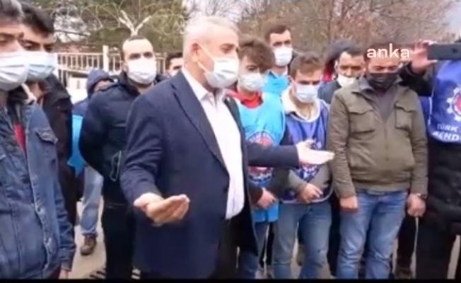 CHP'li Kaya, İşten Çıkartılan Europower İşçisini Ziyaret Etti