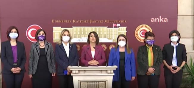 CHP'nin Kadın Milletvekilleri İstanbul Sözleşmesi'nin Önemini Gündeme Getirmeye Devam Ediyor