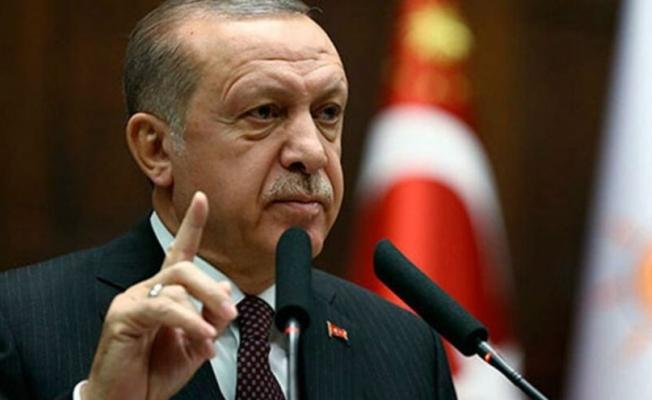 """Erdoğan: """"Bir gece yarısı, 104 emekli amiralin böyle bir girişimde bulunması asla kabul edilemez. Buna ifade özgürlüğü diyemeyiz"""""""
