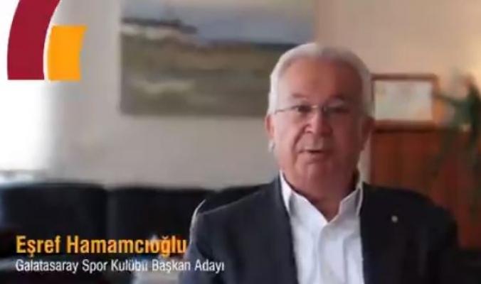 Eşref Hamamcıoğlu Galatasaray başkanlığına aday oldu