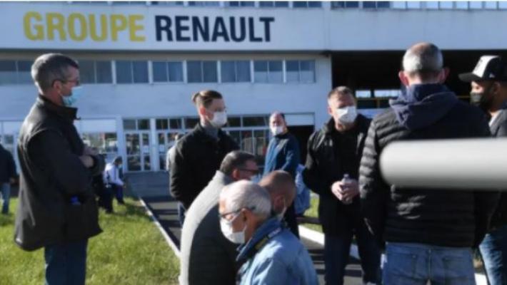 Fransa'da Renault çalışanları, fabrika müdürlerini rehin aldı