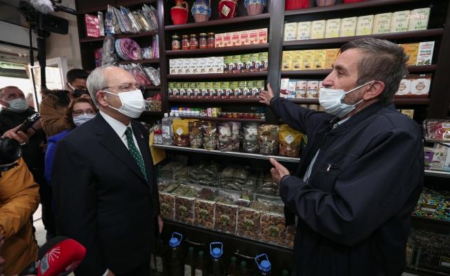 Kılıçdaroğlu Sinop'ta Esnafı Dinledi