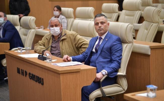 Meclisten Başkan Soner Çetin'e tam destek