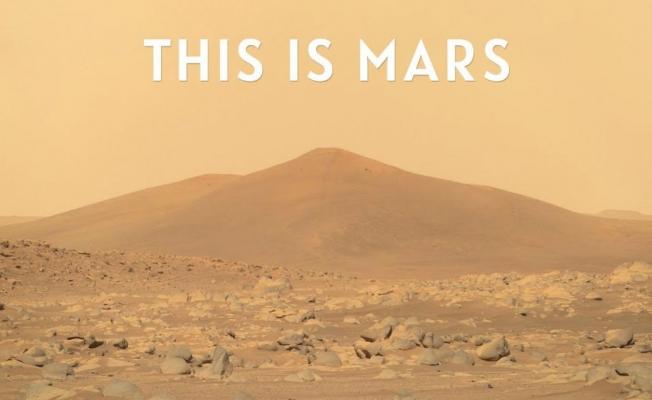 NASA'nın Mars'ta elde ettiği görüntülerden 4K kısa film yapıldı