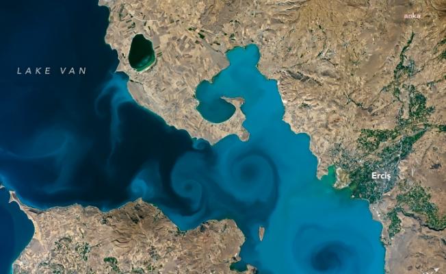 NASA yarışmasının şampiyonu Van Gölü fotoğrafı oldu