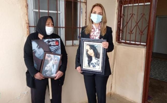 Nazlıaka'dan Kadın Cinayetine Kurban Giden Zeynep'in Annesine Ziyaret