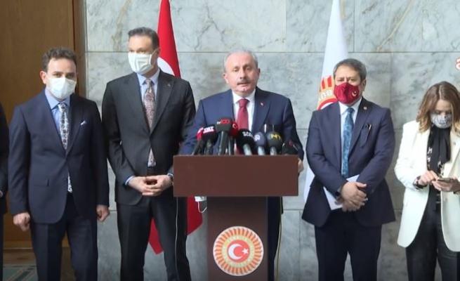 TBMM Başkanı Mustafa Şentop,  'güvenlik soruşturması teklifi'ne dair eleştirilere yanıt verdi