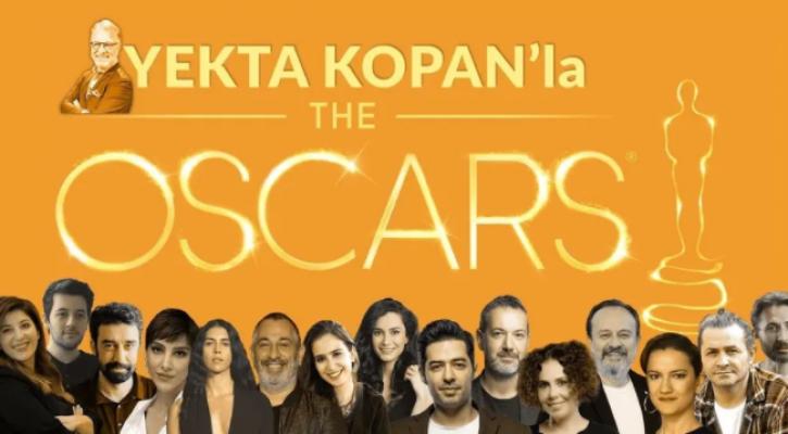 Yekta Kopan'ın 16 konuklu 'Oscar özel' yayını YouTube'da canlı yayınlanacak