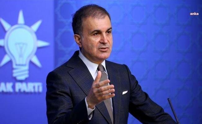 """AKP Sözcüsü Çelik: """"Maksimalist taleplerle KKTC'yi yutmak istedikleri görülüyor"""""""