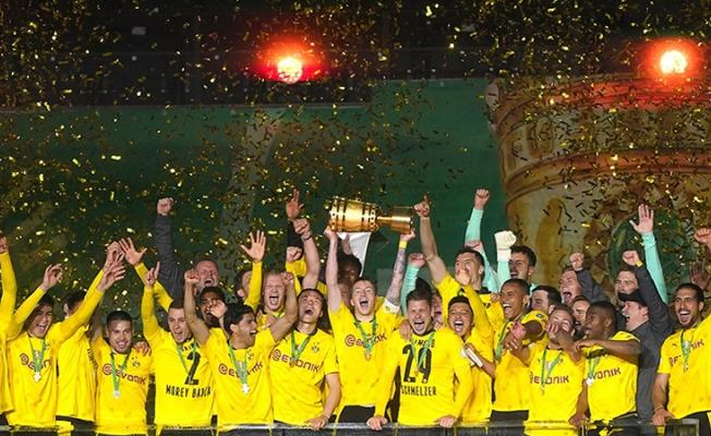 Almanya Kupası'nda zafer Dortmund'un