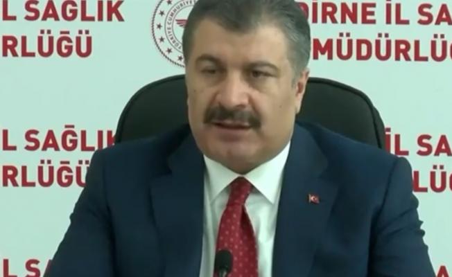 Sağlık Bakanı Koca: Haziran sonu itibariyle 40 yaş üstünü aşılamak istiyoruz