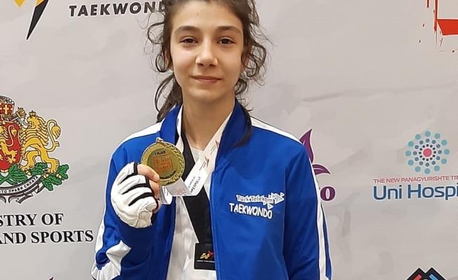 Tekvandocu Hayrünnisa Gürbüz Avrupa Şampiyonu Oldu