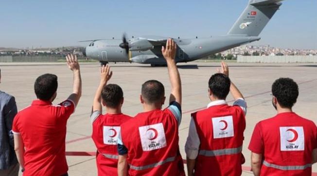 Uçuş izni alamayan uçağa 245 bin dolar ödeyen Kızılay 72 bin lira daha kaybetti