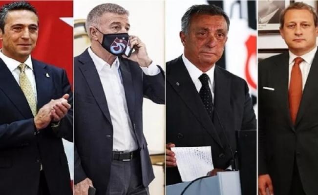4 büyük kulübün başkanları bir araya geldi; Birlik ve beraberlik göstermemiz lazım