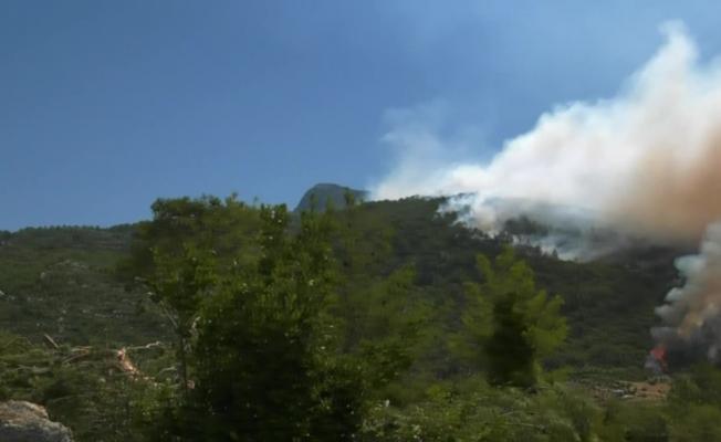Alevlerin yaklaştığı Sırtköylü yurttaş: ''Çok sayıda özel uçağımız var, yangın söndürme uçaklarımız yok''