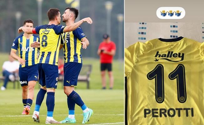 """Diego Perotti'den """"11 numara"""" tepkisi"""