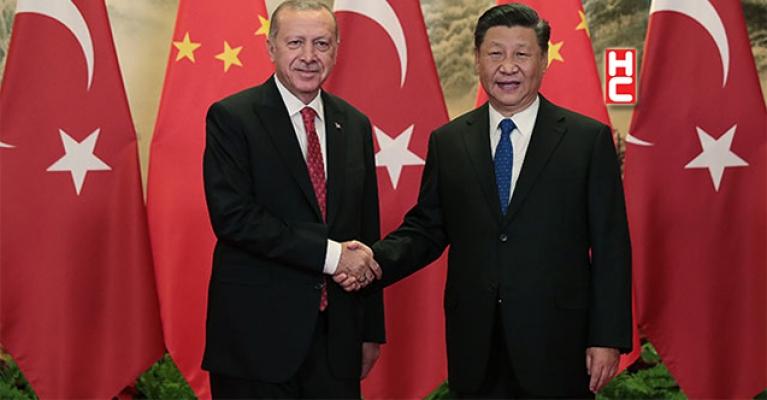 Erdoğan, Çin Devlet Başkanı Jinping ile telefonda görüştü