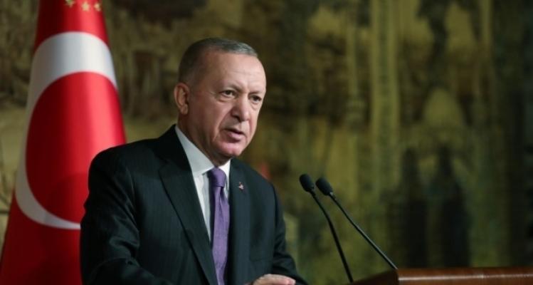 """Erdoğan:  """"Kıbrıs Türk Devleti'nin geniş tanınırlığı için her türlü gayreti sergileyeceğiz'"""