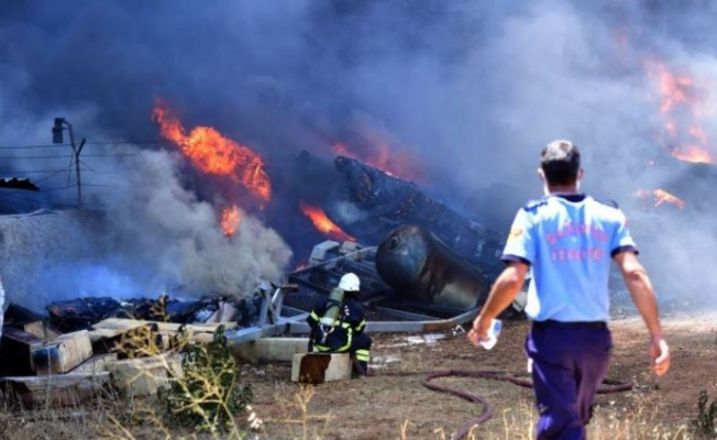 Gaziantep'teki Yangında Zarar 10 Milyon Lira