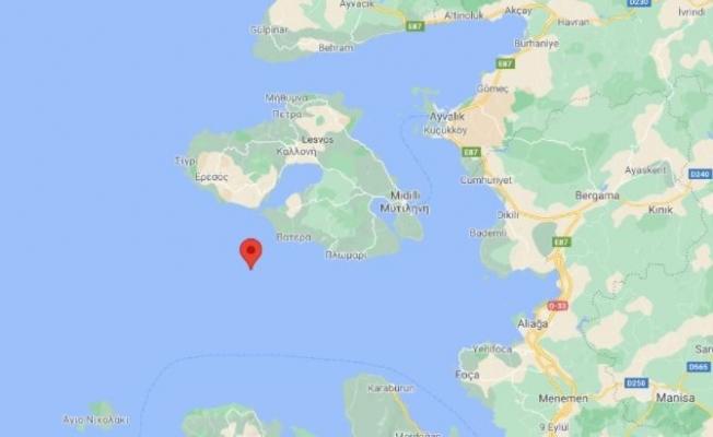 İzmir'in Karaburun İlçesi Açıklarında Deprem!