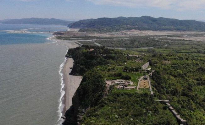 Karadeniz'in tek antik kentinde inşaatın önü açıldı