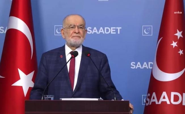 Karamollaoğlu'ndan, Kılıçdaroğlu'nun aday kriterlerine destek: 'İktidardaki arkadaşlarımız amin demeli'