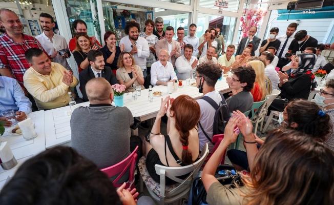 """Kılıçdaroğlu'ndan Erdoğan'a: """"Gençleri kim yaftalıyor, kim istismar ediyor gel onlara soralım"""""""