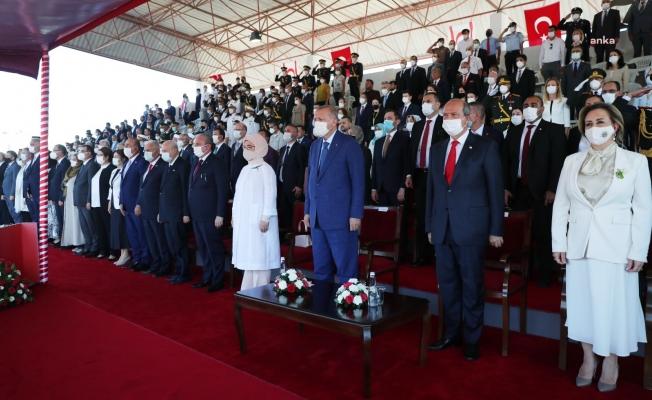 KKTC'de protokol krizi! İyi Partililer: Tören AK Parti'nin şovuna dönüştü