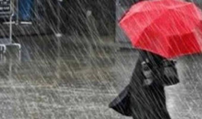 Meteoroloji'den sıcaklık ve sağanak uyarısı
