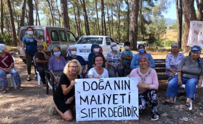 Muğla İkizköy'e destek büyüyor