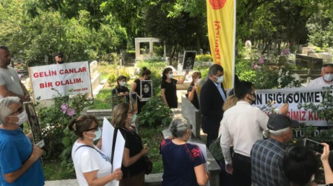 Sivas'ta Katledilen Asım Bezirci ve Nesimi Çimen Mezarları Başında Anıldı