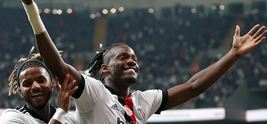 Beşiktaş yıldız transferi Batshuayi ile rahat kazandı