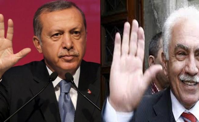 Doğu Perinçek: Erdoğan'ın etrafında dalkavuk ağı var