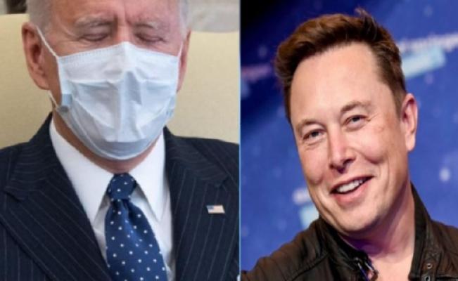 Elon Musk'tan Joe Biden'a gönderme: 'Hâlâ uyuyor'