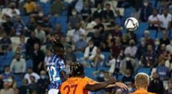 Galatasaray Kaçtı, Trabzonspor Kovaladı! Yılın İlk Büyük Maçında Kazanan Çıkmadı