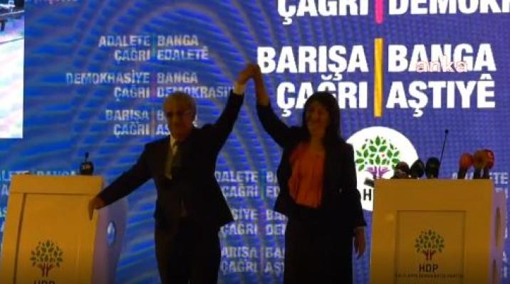 """HDP, Deklarasyonunu Açıkladı; """"İster HDP'li İsterse Başka Bir Aday Olsun, İsimler Yerine İlkeler ve Yöntemler Tartışılmalı"""""""