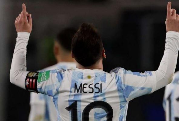 Messi, Pele'nin rekorunu kırdı, gözyaşlarına hakim olamadı