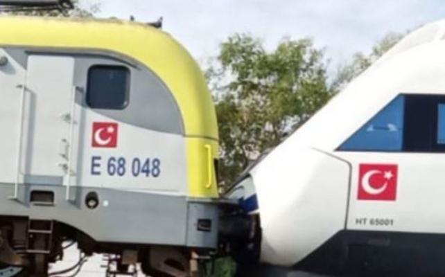Yolcu treni, istasyonda bekleyen YHT'ye çarptı! Sendika: Liyakatsizlik sonucu