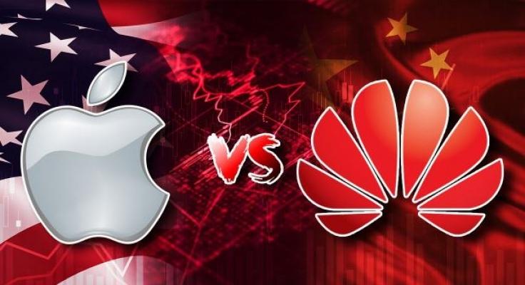 Apple ve Huawei arasında şimdi de isim krizi