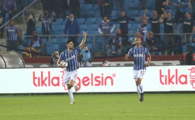 Büyük maçta kazanan Trabzonspor