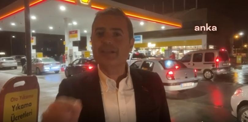 """CHP'li Akın'dan Erdoğan'a: """"Asıl Kuyruklar Benzin İstasyonlarında"""""""