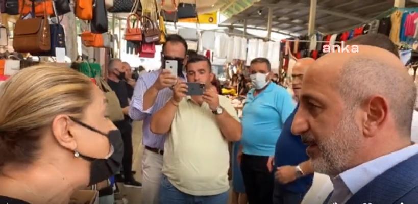 """CHP'li Öztunç'un Pazarda Dinlediği Yurttaş; """"Para Çok, Anlamaz ki Fakir Fukaranın Halinden"""""""